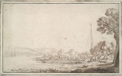 Landscape with a Ferry
