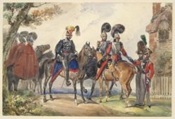 Members of a Royal Horse Guard
