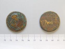 """Sestertius of C. Caesar Augustus Germanicus (""""Caligula""""), Emperor of Rome from Rome"""