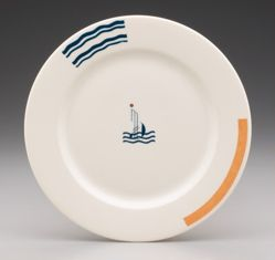 Plate for the S.S. Leviathan
