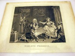 The Harlot's Progress, Plate 2