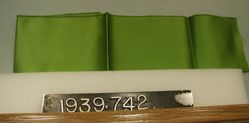 Length of double face satin ribbon