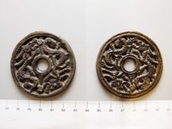 Bronze Charm from Ming Dynasty