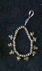 Pendant of Metal Beads