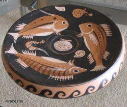 Apulian fish plate