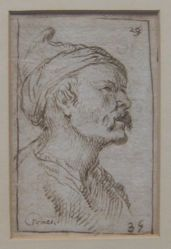 Head of a Man (formerly Portraits of men)