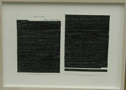 Letters to the Mother, diptych