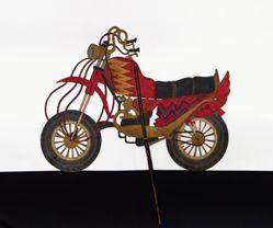 Shadow Puppet (Wayang Kulit) of RX King or Motor